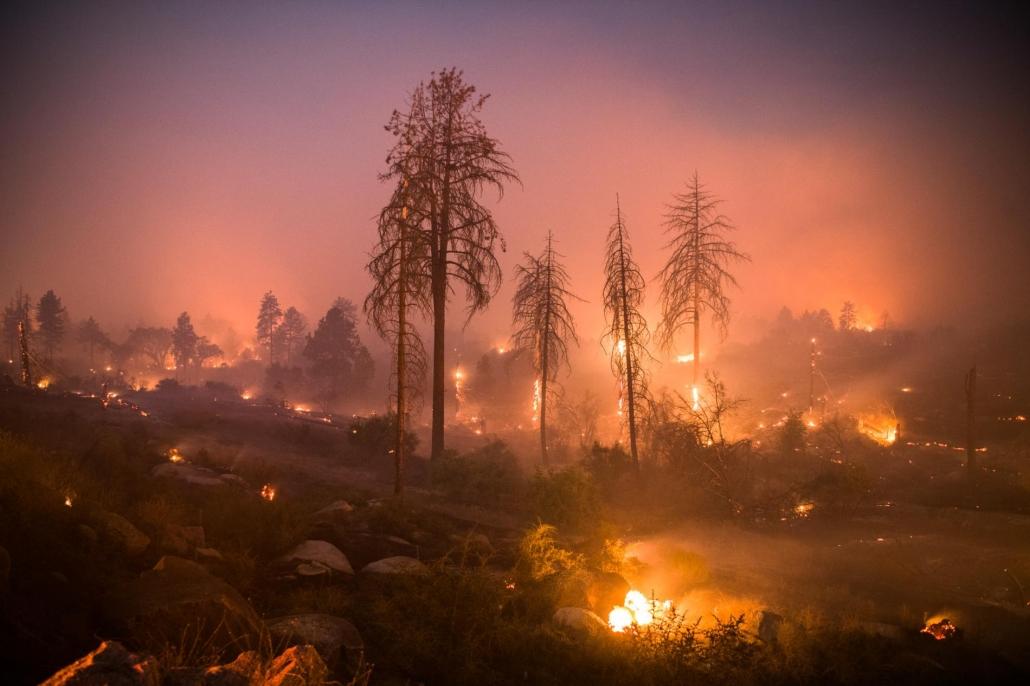 CA Wildfire
